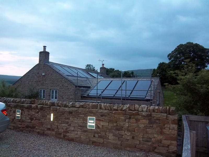 Brilliant new in roof solar options from Viridian Solar installed by Leeds Solar