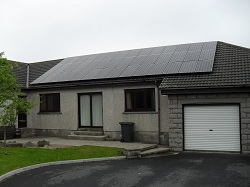 42 x Sanyo HIT N series 235Wp panels, 10kWp 3 phase system using Sunny Tripower 10kW inverter