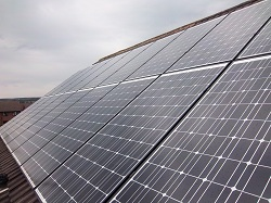 20 x Schott 190Wp black framed solar panels in Otley, 3.8kWp array