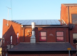 9.75 kWp system using Schott panels, Headingley