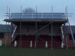 22 x Hyundai panels Robin Hood Football Ground, Rothwell