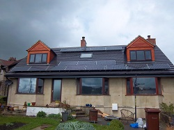 15xSanyo 240 panels, 3.6kWp array, Otley