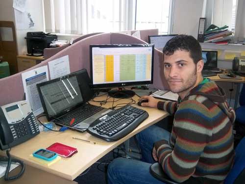 A graduate trainee solar PV design engineer joins Leeds Solar's design team