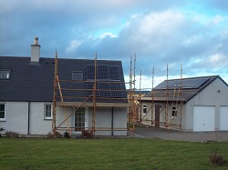 sanyo n series solar PV panels inverness